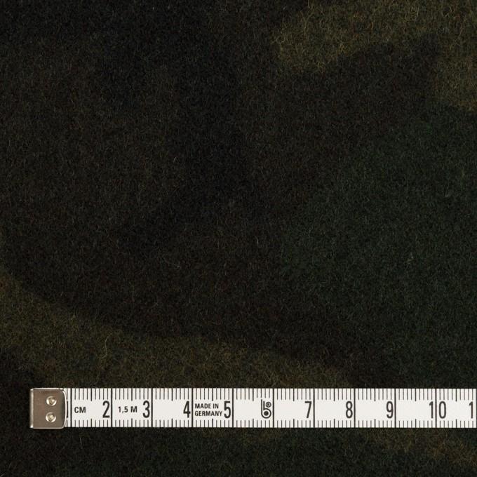 ウール×迷彩(モスグリーン)×ツイード_全2色 イメージ4