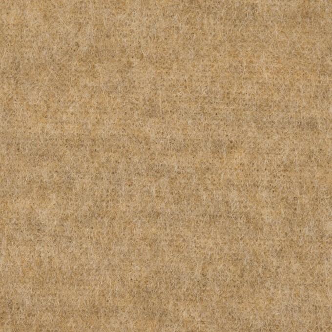 ウール×無地(ベージュ)×シャギーニット イメージ1