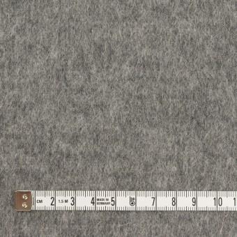 ウール&アンゴラ×無地(グレー)×シャギーニット サムネイル4