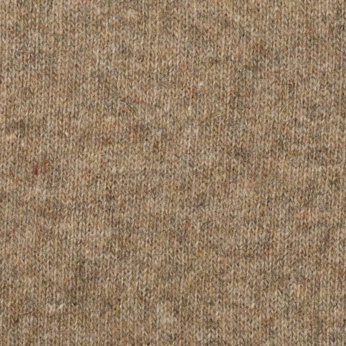 ウール×無地(オークル)×天竺ニット_全2色 イメージ1