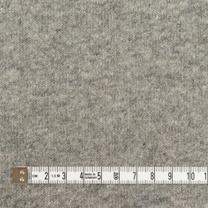 ウール×無地(グレー)×天竺ニット_全2色 イメージ4