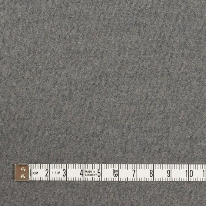 ウール×無地(グレー)×圧縮ニット イメージ4