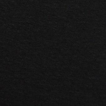ウール×無地(ブラック)×圧縮ニット サムネイル1
