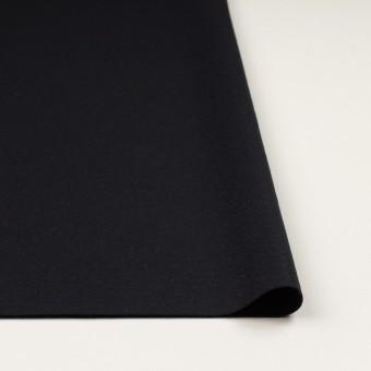 ウール×無地(チャコールブラック)×圧縮ニット_全2色 サムネイル3