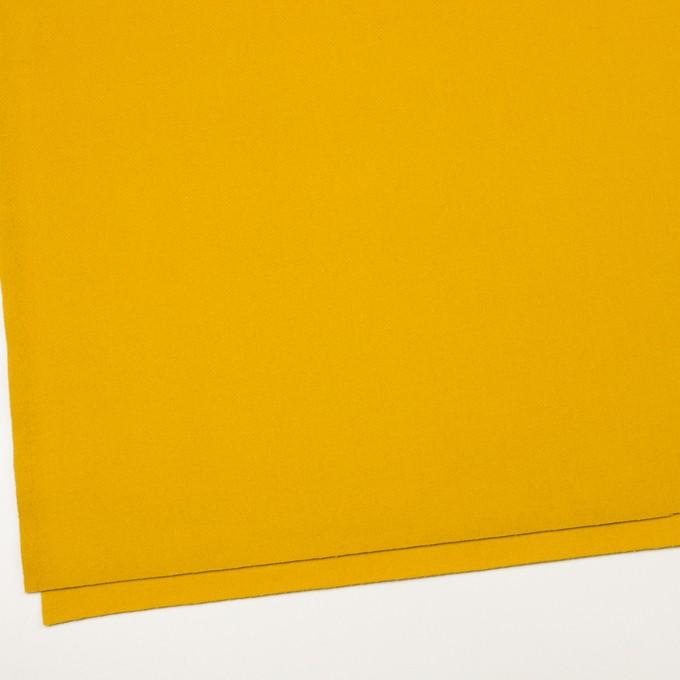 ウール×無地(マスタード)×ソフトメルトン_全2色 イメージ2