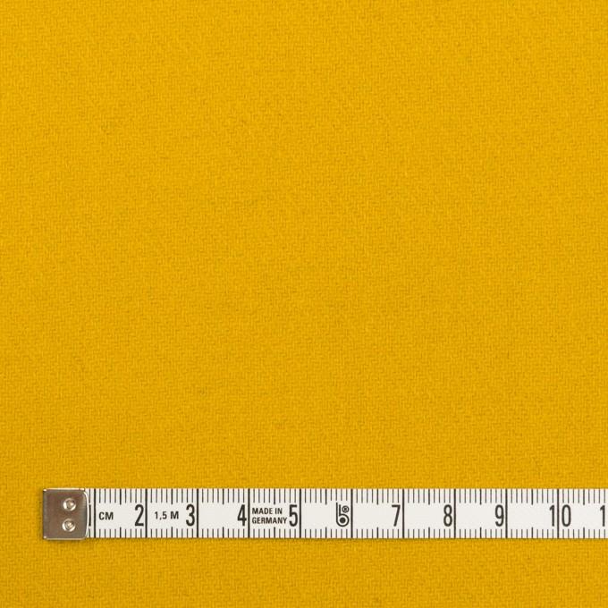 ウール×無地(マスタード)×ソフトメルトン_全2色 イメージ4