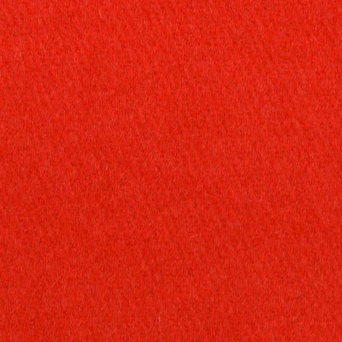 ウール×無地(パッションレッド)×フラノ(フランネル) イメージ1