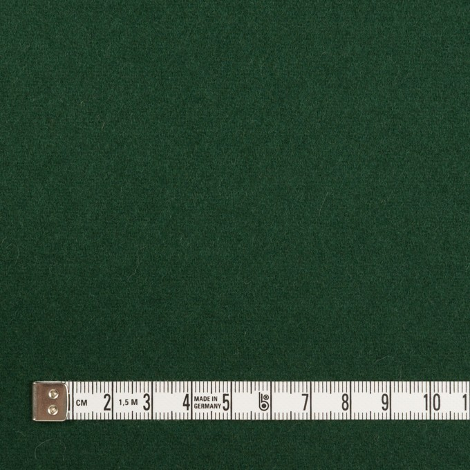 ウール×無地(モスグリーン)×フラノ(フランネル) イメージ4