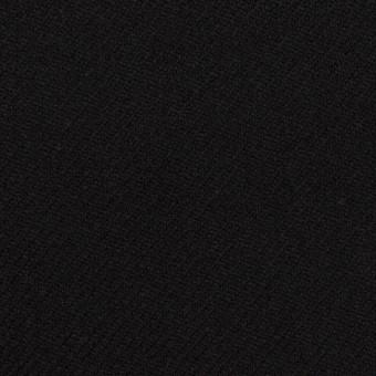 ウール×無地(ブラック)×サキソニー サムネイル1