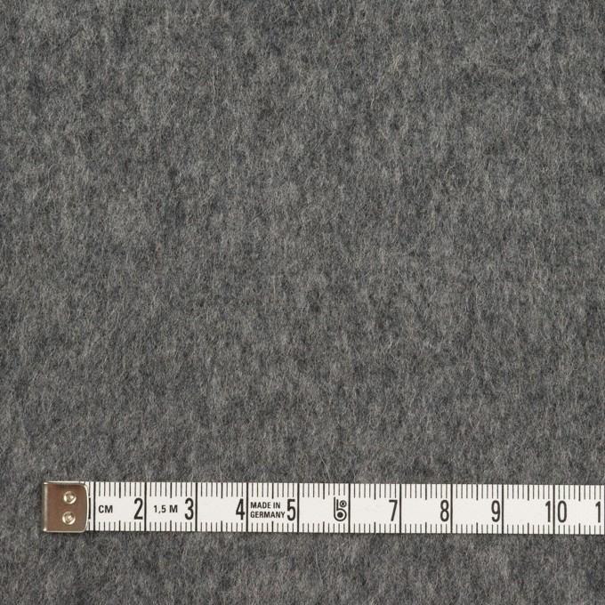ウール&カシミア×チェック&無地(グレー&アイボリー)×Wフェイスビーバー イメージ6