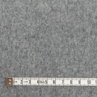 ウール×無地(グレー&マリンブルー)×Wフェイスビーバー サムネイル4