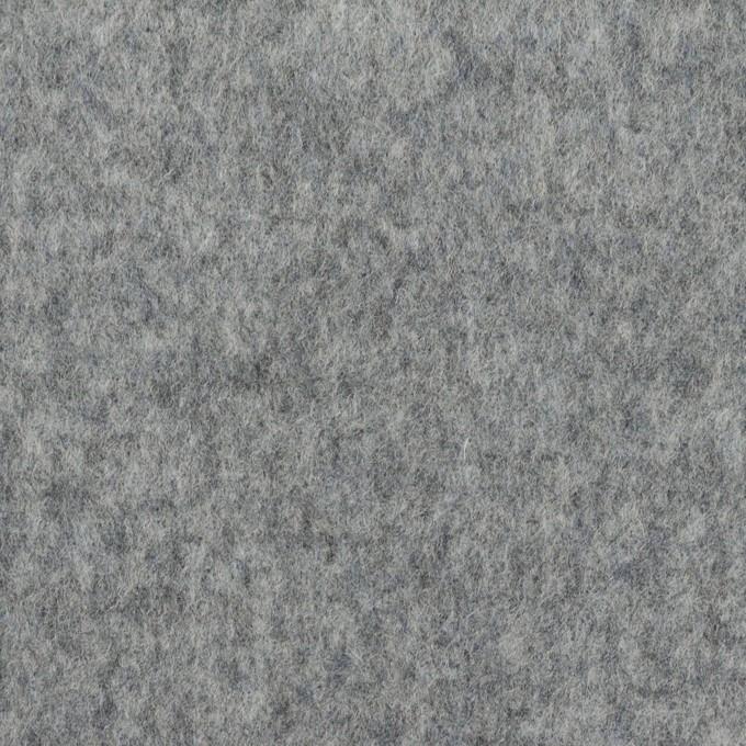ウール×無地(グレー&マリンブルー)×Wフェイスビーバー イメージ1