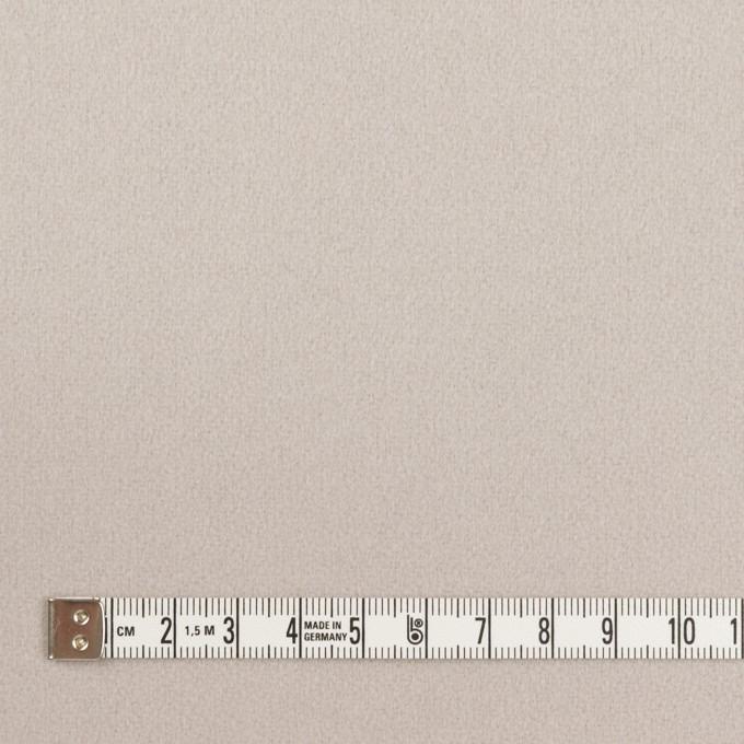 ウール×無地(オイスターグレー)×フラノ(フランネル) イメージ4