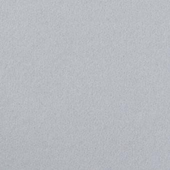 ウール×無地(サックスグレー)×フラノ(フランネル)
