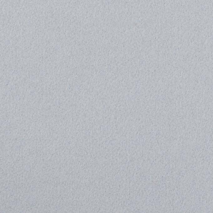 ウール×無地(サックスグレー)×フラノ(フランネル) イメージ1