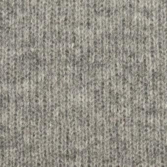 ウール&コットン×無地(グレー&チャコールグレー)×Wニット_全2色 サムネイル1
