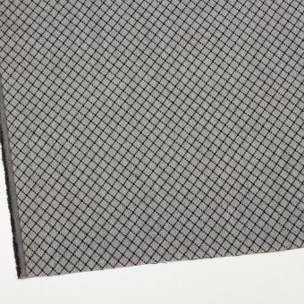 ウール×小紋(グレー&ブラック)×ジャガード サムネイル2