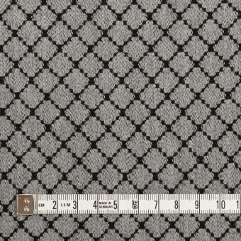 ウール×小紋(グレー&ブラック)×ジャガード サムネイル4