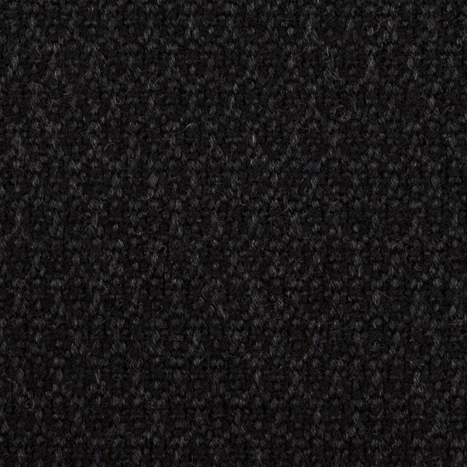 ウール×小紋(チャコール)×ツイード イメージ1