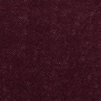 ウール×無地(ワイン)×ガーゼ_全3色 サムネイル1