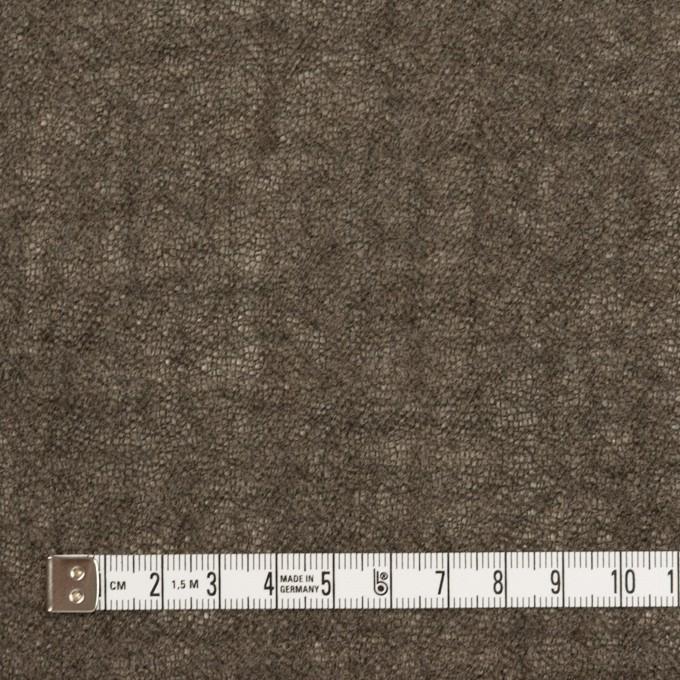 ウール×無地(アッシュブラウン)×ガーゼ_全3色 イメージ4