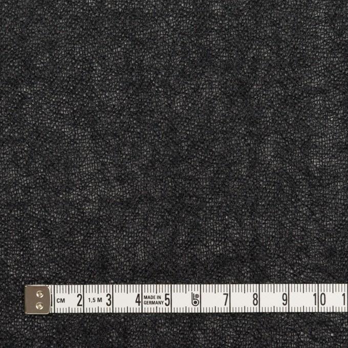 ウール×無地(チャコール)×ガーゼ_全3色 イメージ4