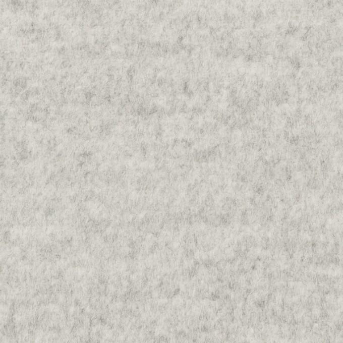 ウール&アンゴラ×無地(ライトグレー)×ビーバー イメージ1