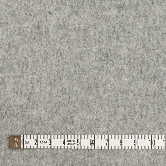 ウール&ナイロン×無地(グレー)×フラノ(フランネル) イメージ4