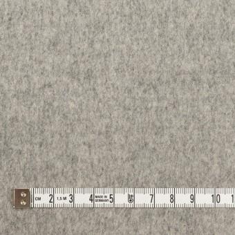 ウール×無地(グレー)×ソフトメルトン サムネイル4