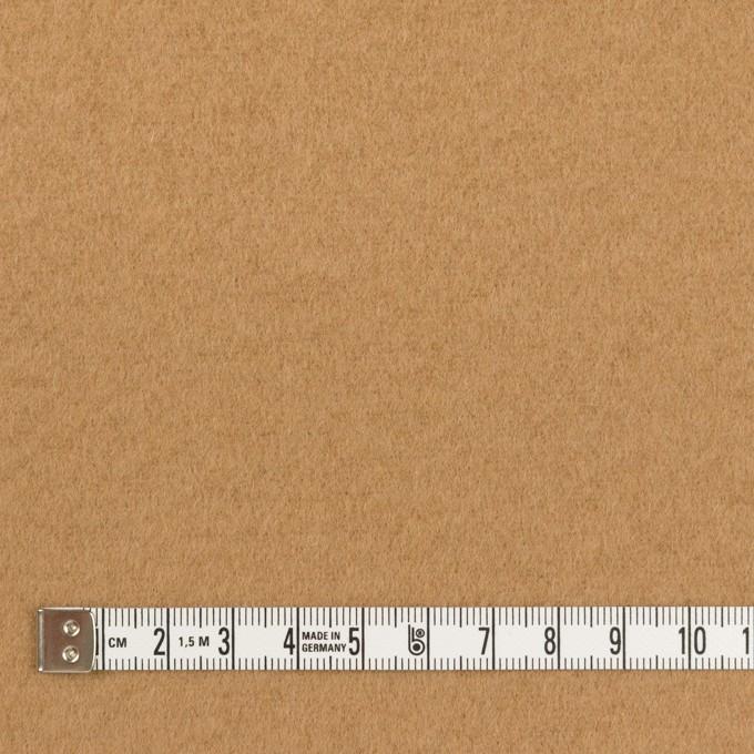 ウール&ナイロン×無地(チャイ)×ソフトメルトン イメージ4