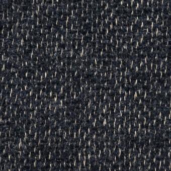 コットン&リネン×無地(ネイビー)×かわり織 サムネイル1
