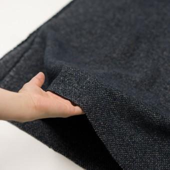 コットン&リネン×無地(ネイビー)×かわり織 サムネイル5