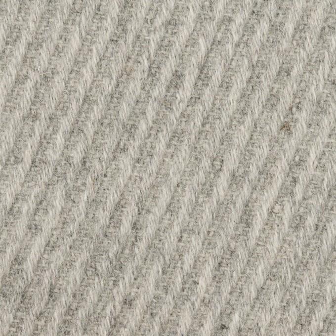 ウール×無地(ライトグレー)×カルゼ_全2色 イメージ1