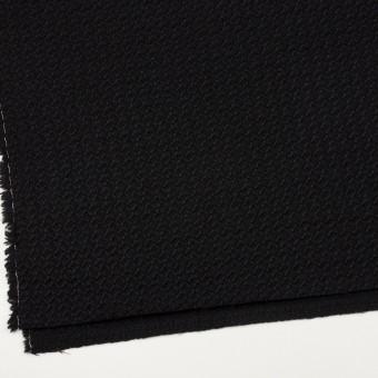 ウール×無地(ブラック)×かわり織_全2色 サムネイル2