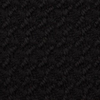 ウール×無地(ブラック)×かわり織_全2色