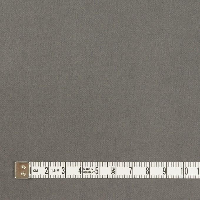 コットン&ポリウレタン×無地(グレー)×フランネル・ストレッチ イメージ4