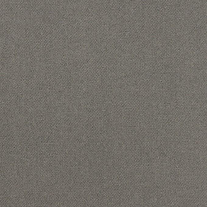 コットン&ポリウレタン×無地(グレー)×フランネル・ストレッチ イメージ1