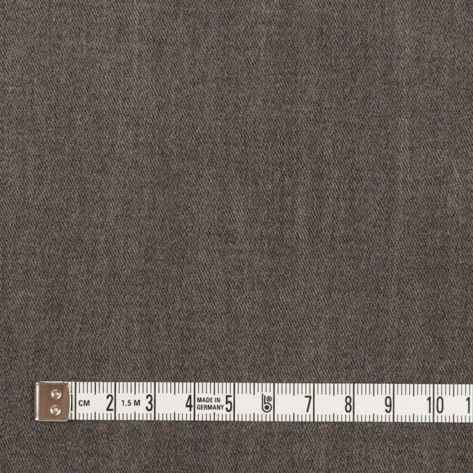 コットン&ポリウレタン×無地(アッシュグレー)×チノクロス・ストレッチ_イタリア製 イメージ4