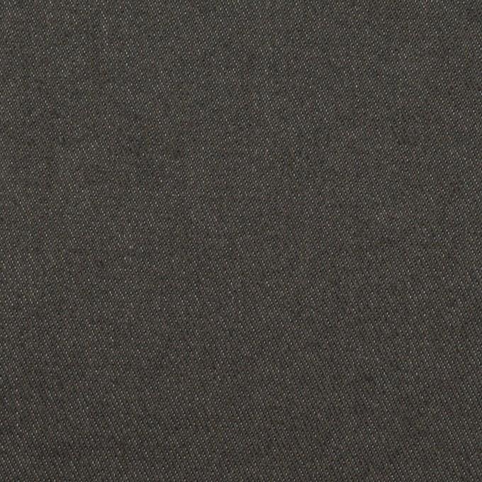 コットン&ウール混×無地(チャコールグレー)×チノクロス イメージ1