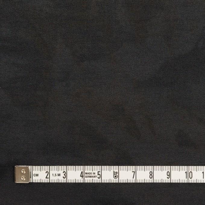 コットン&ナイロン混×ペイント(チャコール)×サージストレッチ イメージ4