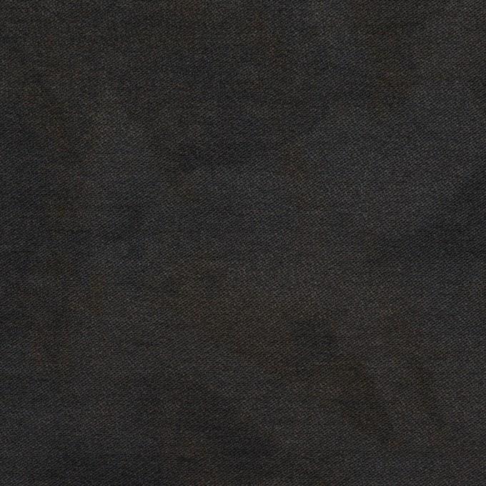 コットン&ナイロン混×ペイント(チャコール)×サージストレッチ イメージ1