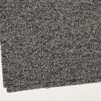 ウール&モヘア混×ミックス(オフホワイト&ブラック)×ファンシーツイード_全3色 サムネイル2