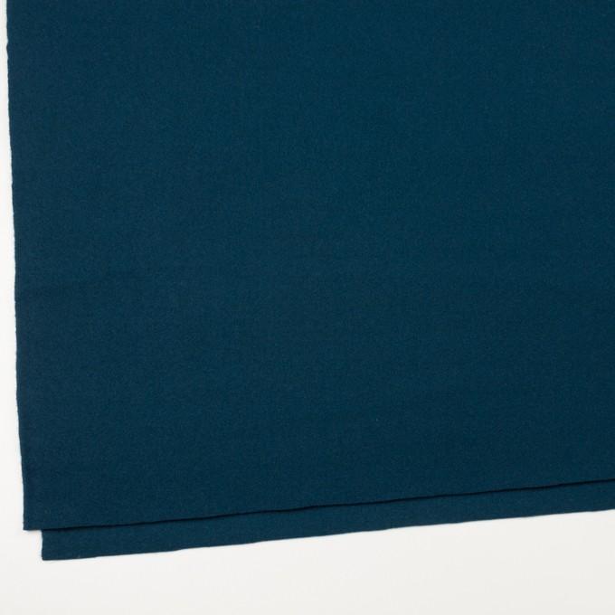 ウール×無地(インクブルー)×ソフトメルトン イメージ2
