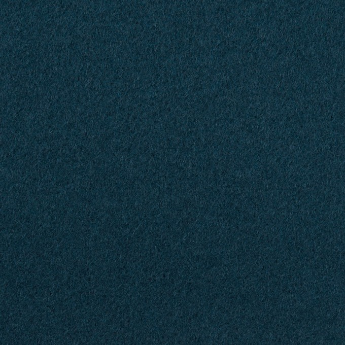 ウール×無地(インクブルー)×ソフトメルトン イメージ1