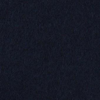 ウール×無地(ダークネイビー)×ビーバー サムネイル1