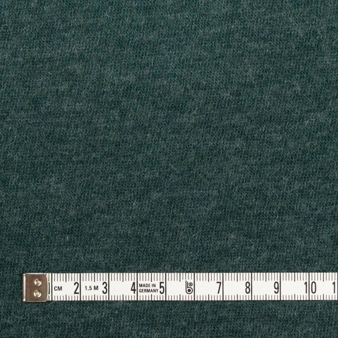 コットン&ウール×無地(バルビゾンブルー)×天竺ニット_全2色 イメージ4