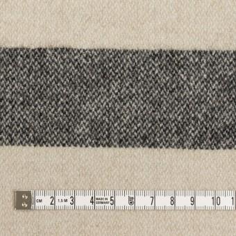 ウール×ボーダー(キナリ&ブラック)×ツイード サムネイル4
