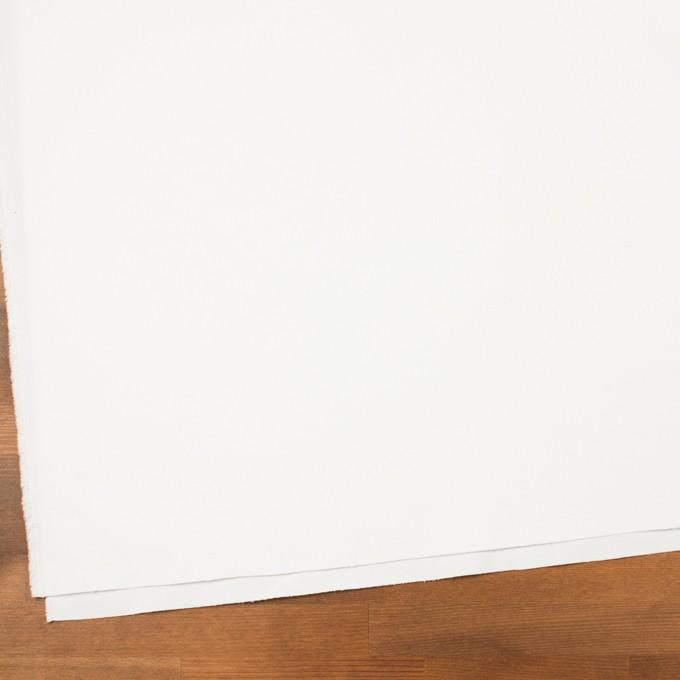 コットン&ポリエステル×無地(オフホワイト)×細コーデュロイ イメージ2