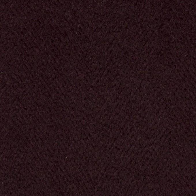 アンゴラ&ウール×無地(レーズン)×ビーバー イメージ1