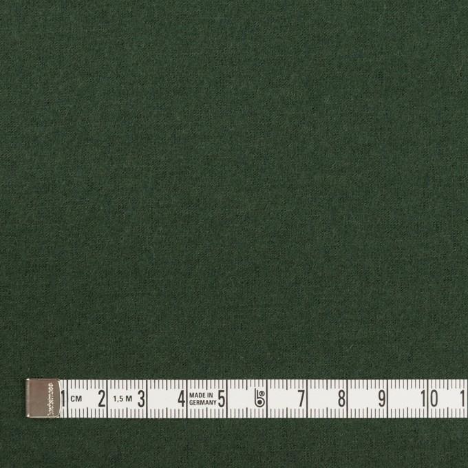 ウール×無地(モスグリーン)×圧縮ニット イメージ4